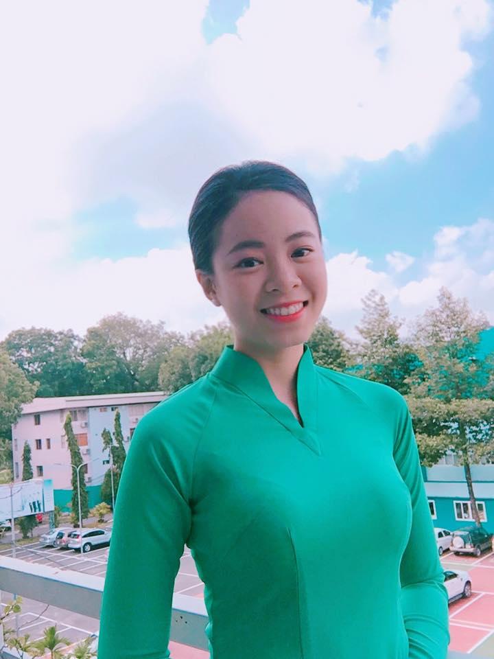 Quynh Huynh – Nữ tiếp viên hãng Hàng không Quốc gia Việt Nam Vietnam airlines